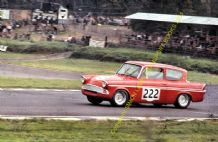 Ford Anglia Superspeed. Chris Craft. Brands Hatch August 1966 colour (1)